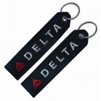 Wholesale DELTA Embroidered Key Chain Key Ring from china suppliers