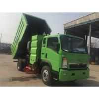 Wholesale SINOTRUK HOWO 4X2 Road Sweeper Truck 2 Axles For Cleaning Highways / Urban Roads from china suppliers