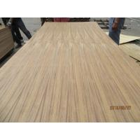 Wholesale High quality! BURMESE TEAK VENEERED PLYWOOD, HARDWOOD CORE  SIZE:4*8*3.6MM from china suppliers