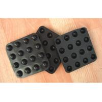 Wholesale Plastic Waterproofing Geosynthetic Materials Dimple Drainage Board Black / White Color from china suppliers