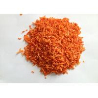 Quality Natural Dried carrot 10*10*2mm Dehydrated Minced carrot from China for sale
