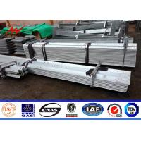 Wholesale 33kv Hot Dip Galvanized Angle Steel Channel For Electric Power Tower Construction from china suppliers