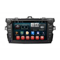 Wholesale Toyota GPS Navigation Corolla Android Car DVD Player SWC TV Bluetooth Radio USB SD from china suppliers