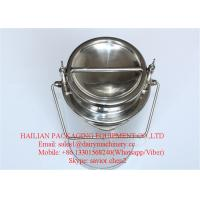Wholesale Dairy Stainless Steel Milk Bucket , Milk Can For Fresh Milk Use 20 Liter Volume from china suppliers