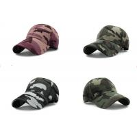 Cool Custom Personalized Hats , Embroidery Camouflage Hip Hop Cap For Girls for sale