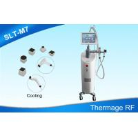 Wholesale Cooling Fractional RF Beauty Equipment , Non-invasive Thermage RF Skin Tightening Machine from china suppliers