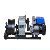 Wholesale 5 Ton Threading Machine Cable Winch Puller For Power Construction from china suppliers