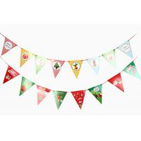 Wholesale Christmas Flags , Bunting Flags For Decoration from china suppliers