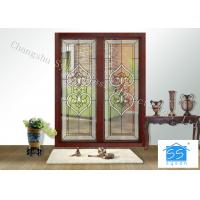 Wholesale Fire Rated Door Glass Panels , Residential House Translucent Glass Panels from china suppliers