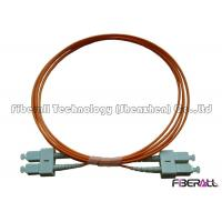 Wholesale High Precision Multimode SC Duplex Fiber Optic Jumper For Optical Communication from china suppliers