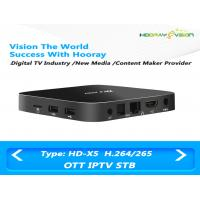 Wholesale WIFI IPTV Set Top Box Amlogic S905X 2G DDR 8G Flash 2.4G WIFI OTT Android Box IPTV from china suppliers