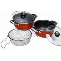 China Non Stick Iron European Saucepan (CJ960) on sale