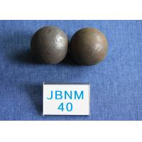 Wholesale High Surface Hardness 61 - 63hrc Grinding Media Balls B2 D40mm Even hardness for Cement Plants from china suppliers