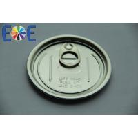 Wholesale Composite Easy Open Can Lids 300# Pop Top Can Lid With Safe Rim , Childproof from china suppliers