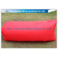 Wholesale Polyester Portable Camping Inflatable Lazy Bag Air Lounge Chair Waterproof from china suppliers