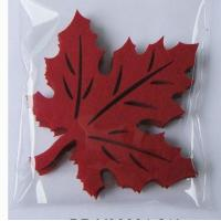 Wholesale Maple Leaf Nonwoven Fabric Placemats And Coasters For Protect Table from china suppliers