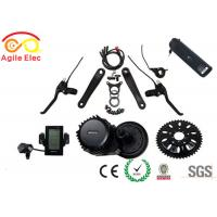 Quality 500W bafang Mid Drive Electric Bicycle Motor Kit With Hailong Type Battery for sale