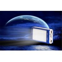Quality Shock / Dust Resistant Electroluminescent Products Dual USB Solar Mobile Power Supply for sale