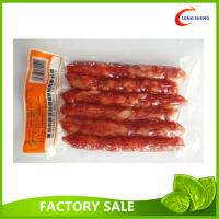 Wholesale Flat Heat Seal Bottom Open Clear Vacuum Packaging Pouch For Sausages / Fruits from china suppliers