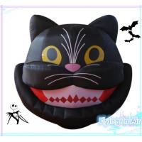 Wholesale 2m Oxford Vivid Inflatable Halloween Cat For Halloween Decoration from china suppliers