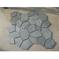 Wholesale Green Slate Flagstone Walkway/Wall Cladding Natural Slate Flagstone Patio Stones Landscaping from china suppliers