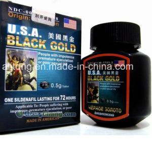 Wholesale Hot Effect 100% USA Black Gold Sex Pill Male Enhancerment 16pills/Boxes Original Best USA Black Gold Male Enhancement from china suppliers
