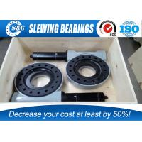 Wholesale High Strengthen Slew Ring Bearing And Drives For Vehicle / Crane Steering System from china suppliers