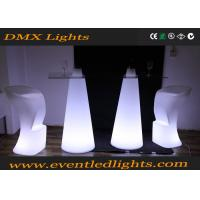 Wholesale Events Party Wedding Led Cocktail Table , Hire Lighted Bar Table IP55 from china suppliers
