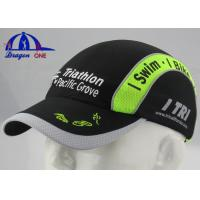 Wholesale Printing And Embroidery Logo Custom Running Caps , Large Youth Baseball Caps from china suppliers
