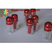 Wholesale empty capsule bottle with cap 12mm for sale with metal cap small sex pills bottle with aliminum foil cap  capsule shape from china suppliers