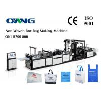 Wholesale Multifunctional Ultrasonic Non Woven Bag Making Machine / machinery from china suppliers