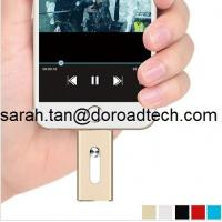 Wholesale New Design OTG USB Flash Drive for iPhone, 100% Real Capacity USB Disks from china suppliers