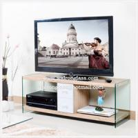 Wholesale Modern TV Cabinet/Stand with High Quality Tempered/Toughened Glass from china suppliers