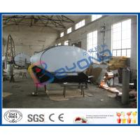 Wholesale 1000L/2000L/3000L/4000L/5000L/6000L horizontal milk transportation tanks with insulation layer from china suppliers