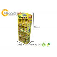Wholesale Oreo Cookies Paper Cardboard Shelving Displays , Retail Display Racks from china suppliers