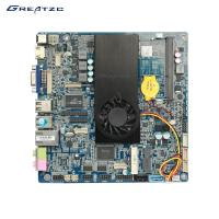 Wholesale ZC-3337U 2COM Industrial PC Motherboard , MINI ITX Motherboard With Dual Core CPU from china suppliers