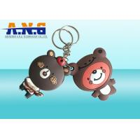 Wholesale Waterproof Replacement Key Fob Rfid ,Passive Rfid Key Ring With Lovely Bear Logo from china suppliers