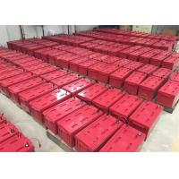 Wholesale Red M8 Front Terminal Battery For Digital Channel Station , 12v180ah Capacity from china suppliers