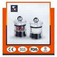 Wholesale Acrylic transparent GK-S26 pepper mill & ceramic core & sea salt & pepper mill grinding from china suppliers