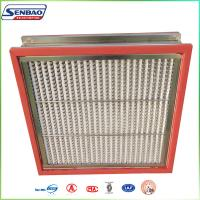High Temperature Resistance Oven HVAC Air Filters with Stainless Steel SUS304 Frame