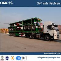 Wholesale flatbed trailer , sinotruk 12 wheeler tri axle flatbed truck trailer from china suppliers