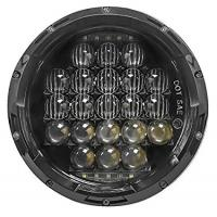 Wholesale 5D 7 Inch 105W White Jeep Wrangler Headlights Round Shaped IP 68 Waterproof from china suppliers