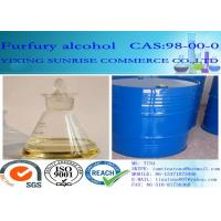 Wholesale Furfuryl Alcohol Foundry Chemicals CAS 98-00-0 Colorless To Light Yellow Transparent Liquid from china suppliers