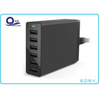 Wholesale Multiple USB Charger 50W 10A Travel Wall Charger with 6 Ports for Quick Charge from china suppliers