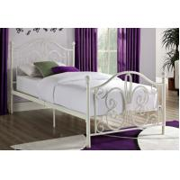 Quality Decorative Antique Full Size Metal Beds Twin Wrought Iron For Bedroom for sale