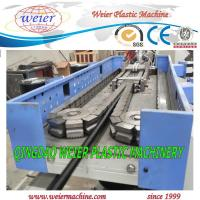 Buy cheap 6-50mm diameter of plastic single wall PP PE PA corrugated pipe machinery with CE SGS from wholesalers