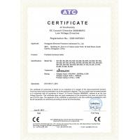 DongGuan Sinowon Precision Instrument Co., Ltd. Certifications