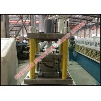 Wholesale Metal U Profile Runner Cold Rollforming Production Line with European Column Rolling Stations from china suppliers