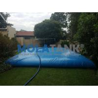 Wholesale hot sale folding pvc soft water storage tank  custom water baldder  35000L shape pillow tank from china suppliers