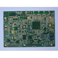 Wholesale custom 9 OZ IPC 6012 V-Groove GERBER FR-1 2 layer Gold finger pcb board for electronics from china suppliers